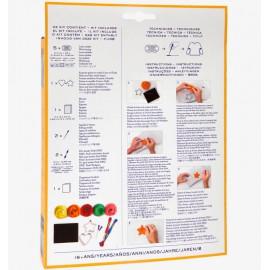 Kit Patch Art - Corazon y Estrella - DMC