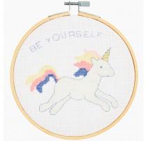 Cross stitch kit - Unicorn - DMC