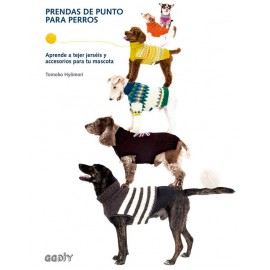 Prendas de punto para perros. Aprende a tejer jerseis y accesorios para tu mascota