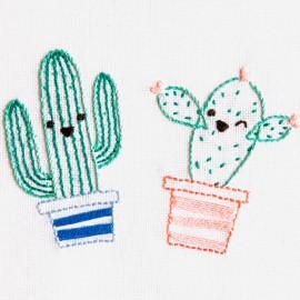 Kit de Bordado Cactus Sonrientes - DMC