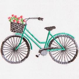 Kit de Bordado Bicicleta  - DMC
