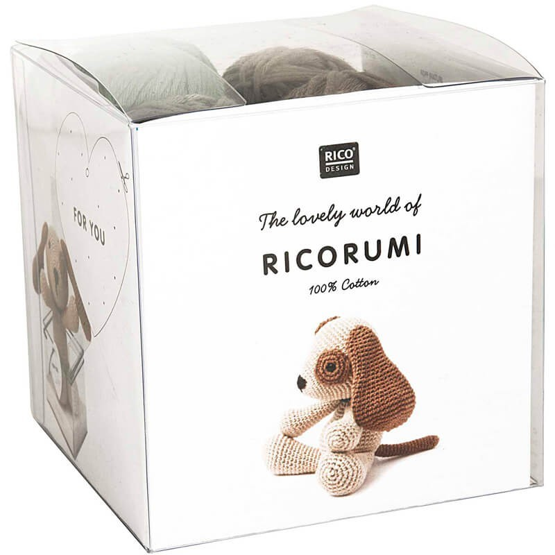 Kit de Amigurumi Dog - Rico Design