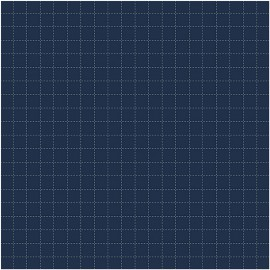 Tela para Seshiko Dark Blue Check - Rico Design