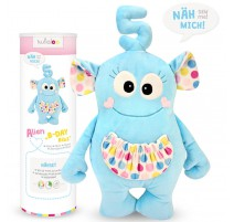 Kit Peluche Alien B-Day Bibs - Kullaloo