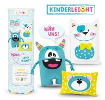 Kit Peluche Clase de Costura Little Friends - Kullaloo