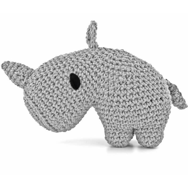 Kit Amigurumi Rinoceronte Dex - Hoooked
