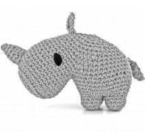 Amigurumi Kit Dex Rhinoceros - Hoooked