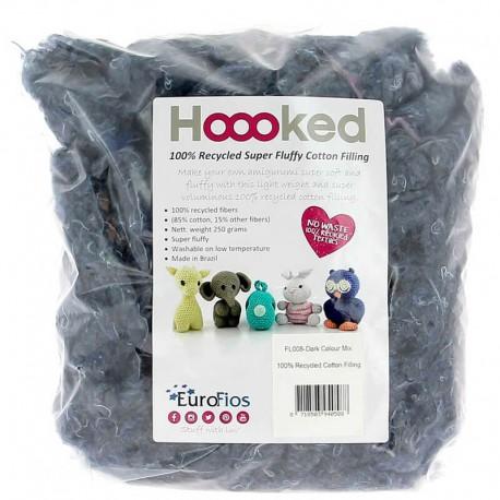 Algodón para relleno reciclado - Hoooked