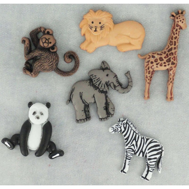 Wild thing buttons – Dress It Up