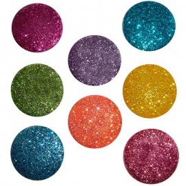 Big Glitter Dots Brights buttons – Dress It Up