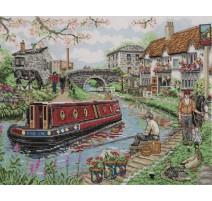 Kit Punto de Cruz - Country Canal - Anchor