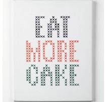 Kit de Bordado - Eat More Cake  - Anchor