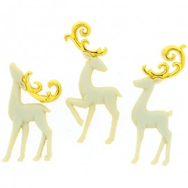 Botones Majestic Reindeer - Dress It Up