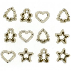 Botones Mini Cookie Cutters - Dress It Up