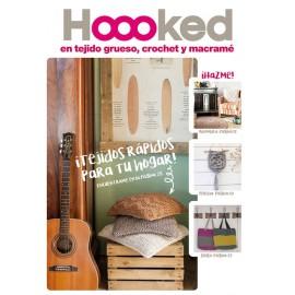 Revista Hoooked - En tejido grueso, crochet y macramé