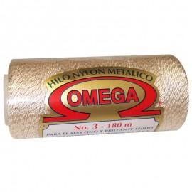 Hilo Omega Nº3 Metálico