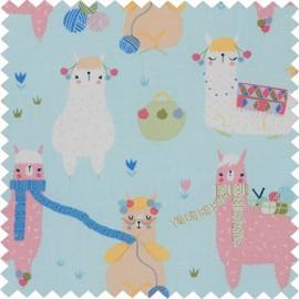 Costurero Ovalado - Knitting Alpacas (Grande)