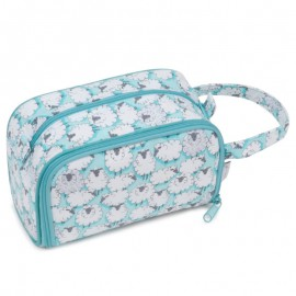 Bolsa con Porta Ganchillos y Dispensador de Lana - Sheepish