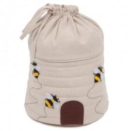 Bolso de Labores con Cordon - Applique Bee