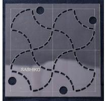 Plantilla para Bordar Sashiko 10.15 cm - Sew Easy