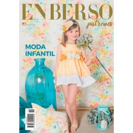 Revista Enberso Patrones Nº 1 Moda Infantil