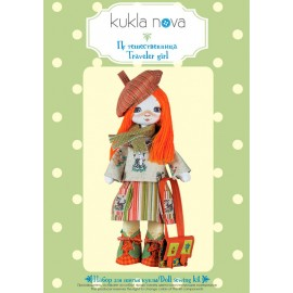 Kit de Costura Muñeca - Traveler girl