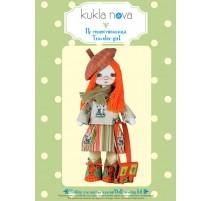 Kit de Costura Muñeca - Traveler girl