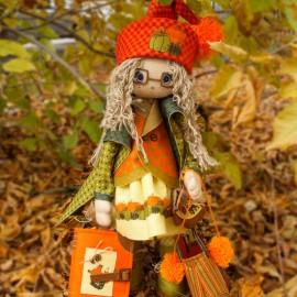 Kit de Costura Muñeca - Autumn