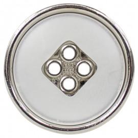 Botón Poliéster Metalizado