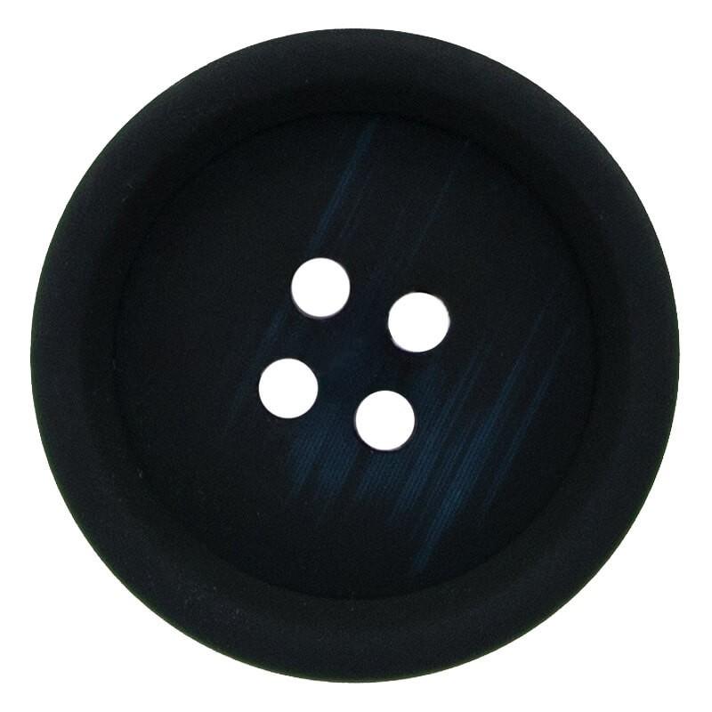 Botón Poliéster Goma Imitación Madera