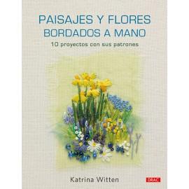 Paisajes y Flores Bordados a Mano