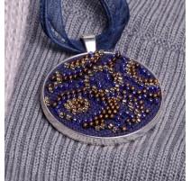 Kit de Micro Bordado Collar - Blues