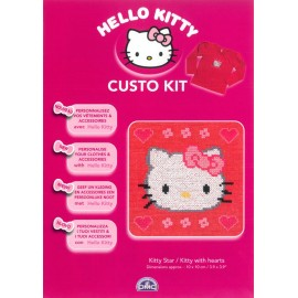 Custo Kit Hello Kitty - Kitty con Corazones