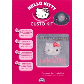 Custo Kit Hello Kitty - Retrato de Kitty