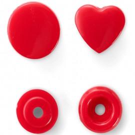 Botones Snaps en Forma de Corazon - Prym