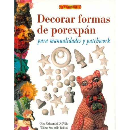 Decorar formas de porexpán