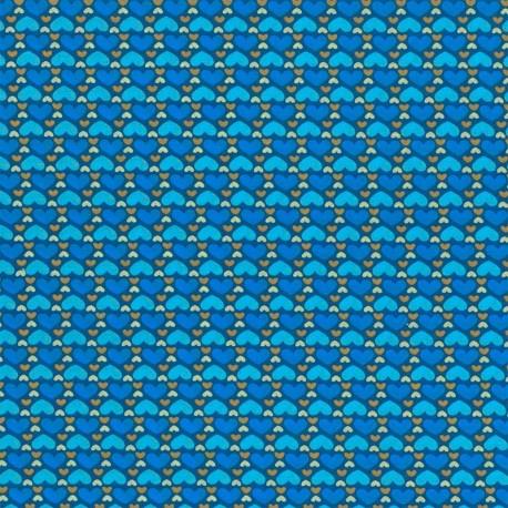 Corazones Azul