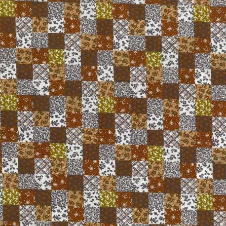 Collage Flores - Marrones