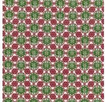 Flores - Roja y Verde