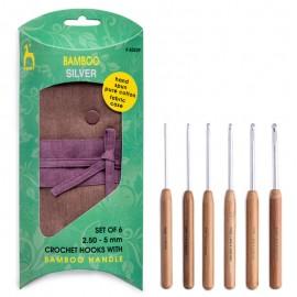 Set de Ganchillos con Mango de Bamboo - Pony