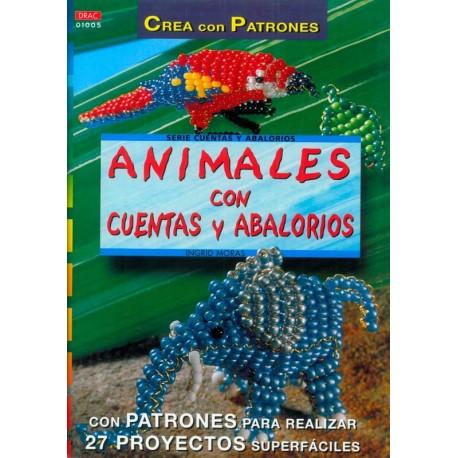 Animales con cuentas y abalorios