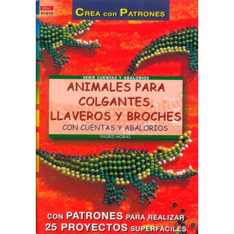 Animales para colgantes, llaveras y broches con cuentas y abalorios