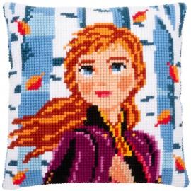 Kit Cojin Punto de Cruz - Disney - Frozen 2 - Anna - Vervaco