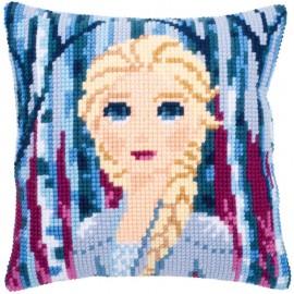 Kit Cojin Punto de Cruz - Disney - Frozen 2 - Elsa - Vervaco