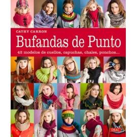 Bufandas de punto. 42 modelos de cuellos, capuchas, ponchos...