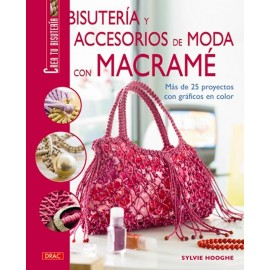 Bisutería y accesorios de moda con macramé