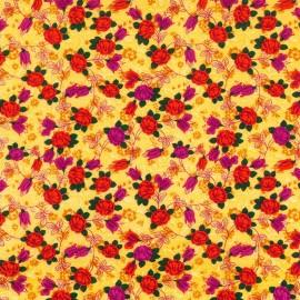 Tela Rosas Amarillas