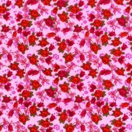 Tela Rosas Rosa