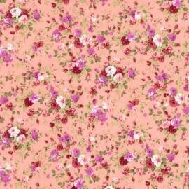 Flores - Fondo Rosa