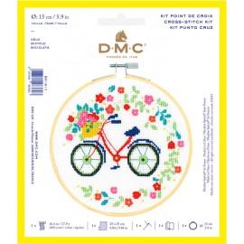 Kit de Punto de Cruz  - Bicicleta - DMC